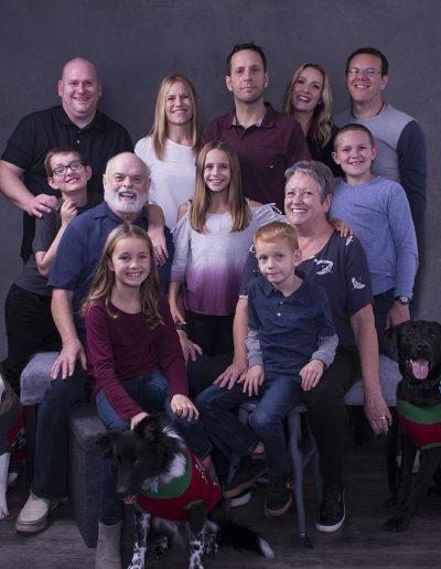 kim sleno portraits family 5